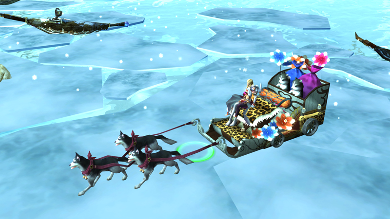 Polar Dog Sled Mount to help cool you off in July, only for War of the Immortals