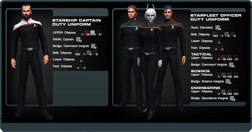Odyssey and Bortasqu' Uniforms Coming Soon! | Star Trek Online