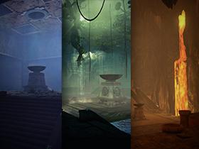 Блог разработчиков: Руины подземного города