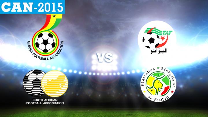 Regarder Algerie - Senegal streaming can 2015