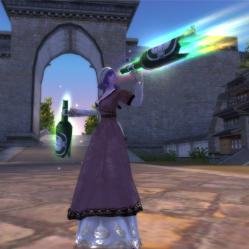 Fashion Weapon, free mmorpg, perfect world