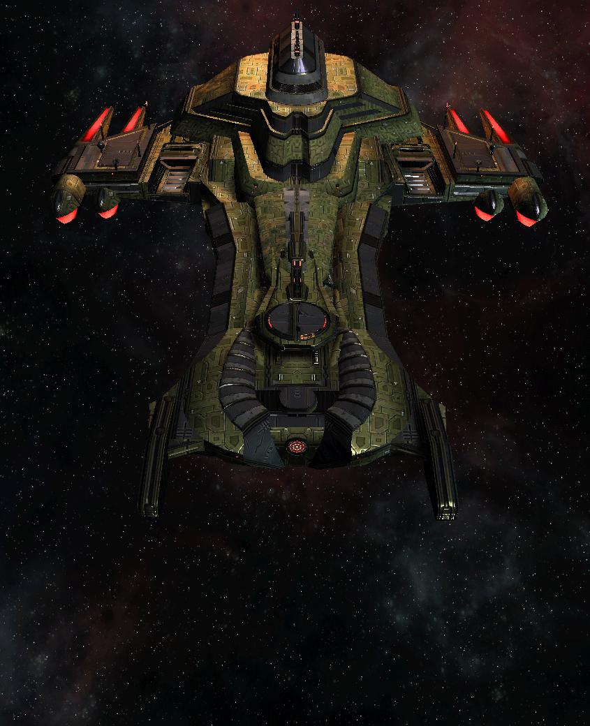 Klingon Command Ship 16