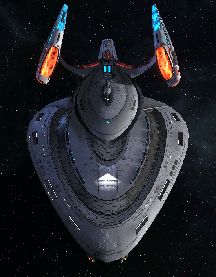 Starfleet Federation Command Ship 15