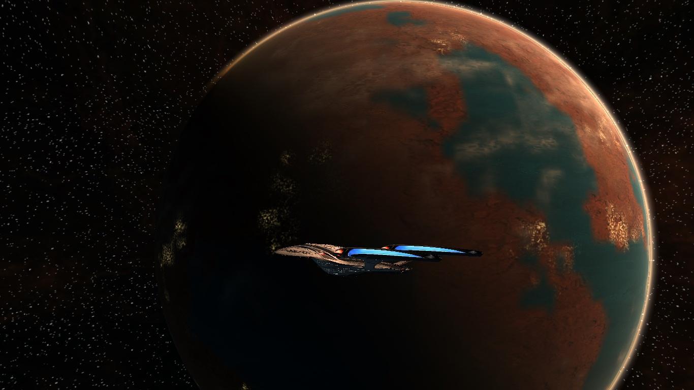 Orbiting Vulcan