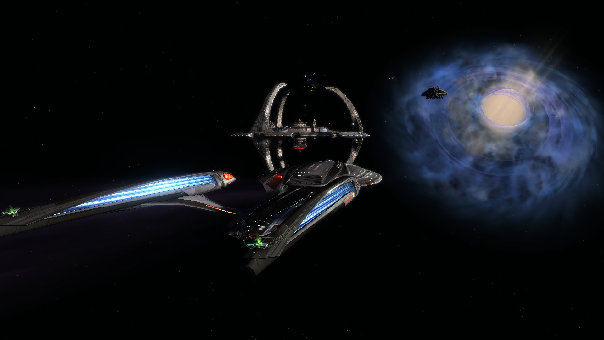 DEEP SPACE NINE AND THE CELESTIAL TEMPLE