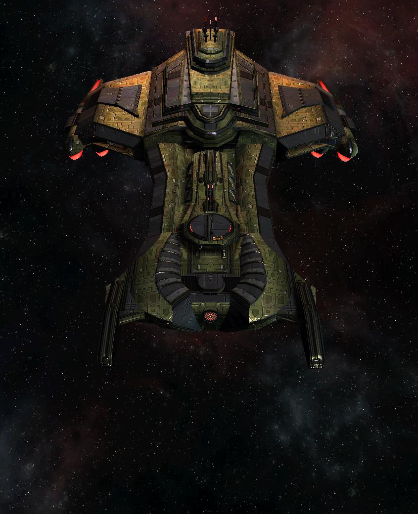 Klingon Command Ship 6