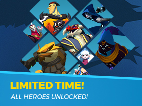 All Heroes Free! 11/16 - 11/20