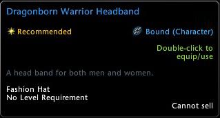 Dragonborn Warrior Headband