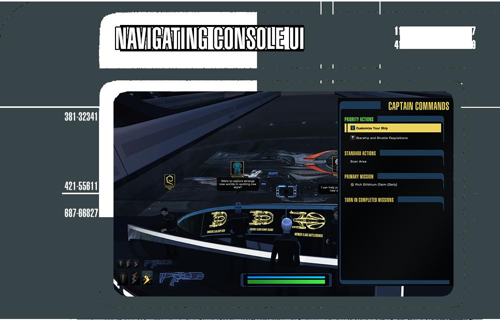 Star trek online navigating console ui star trek online - Star trek online console ...