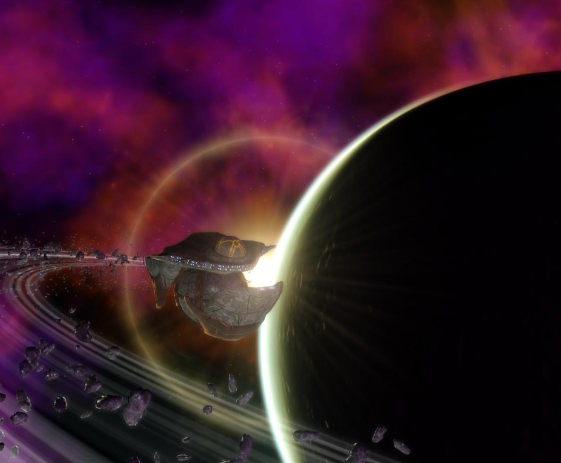 Steuben enters orbit