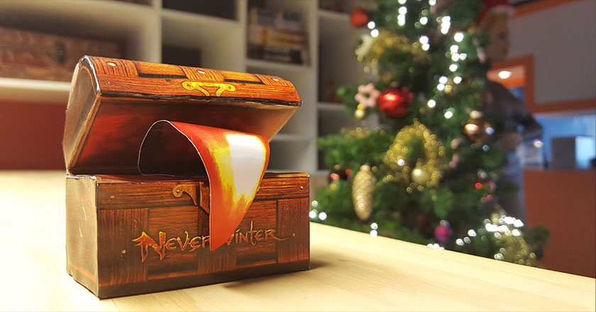 Neverwinter Mimic papercraft
