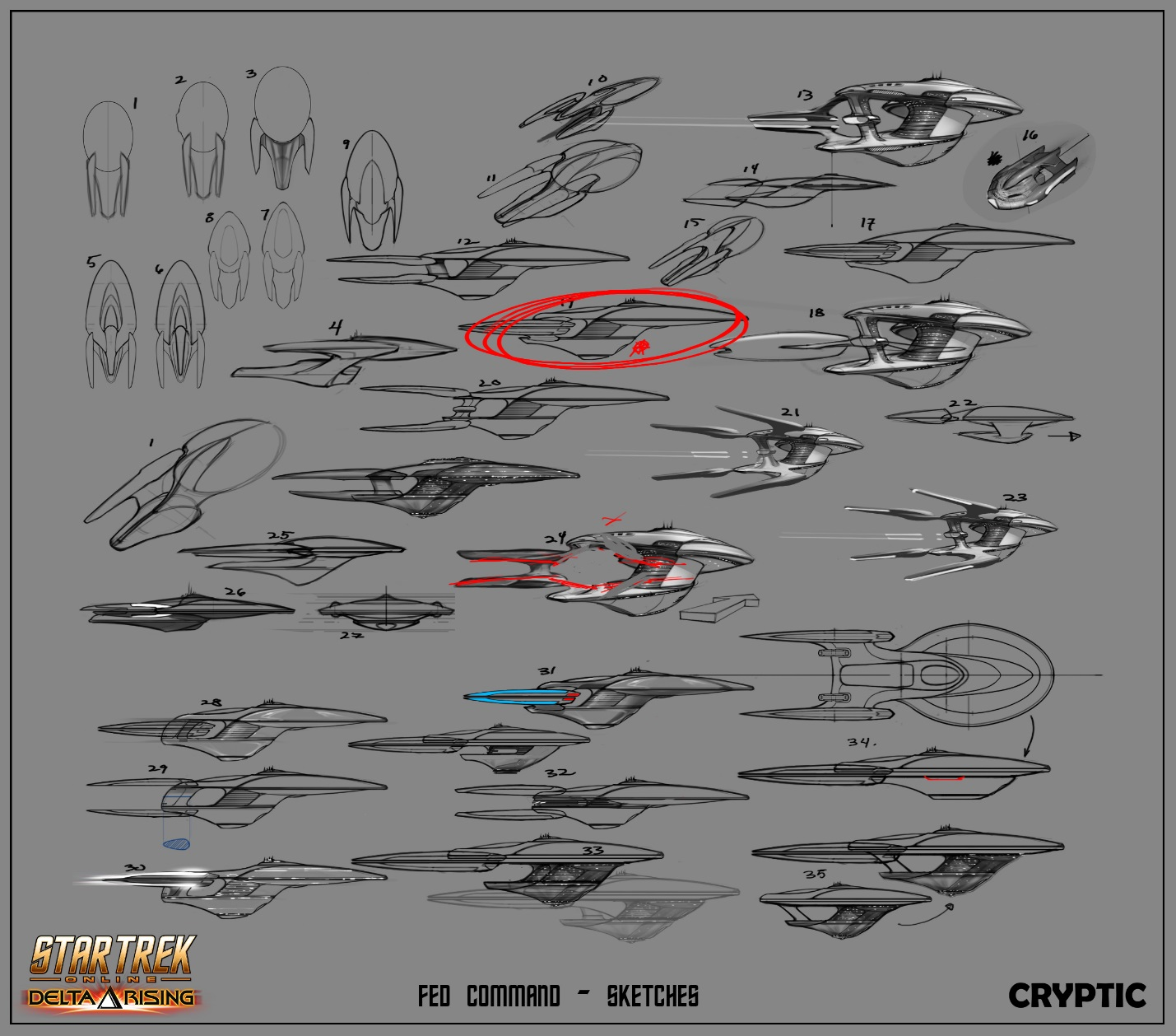 Art of Command Ships