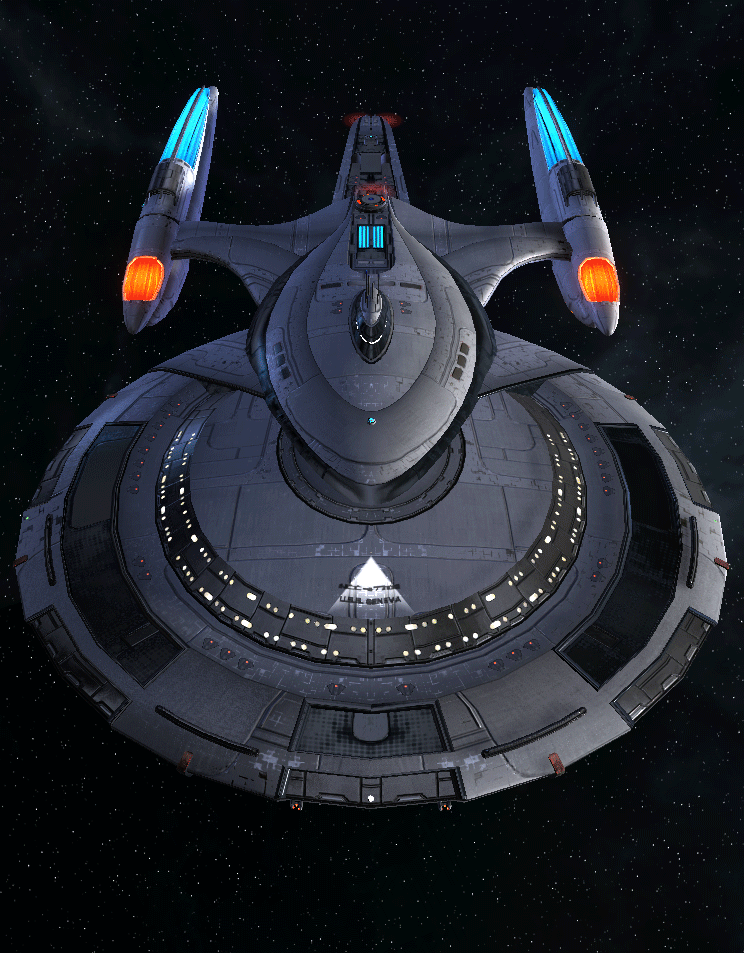 Starfleet Federation Command Ship 6