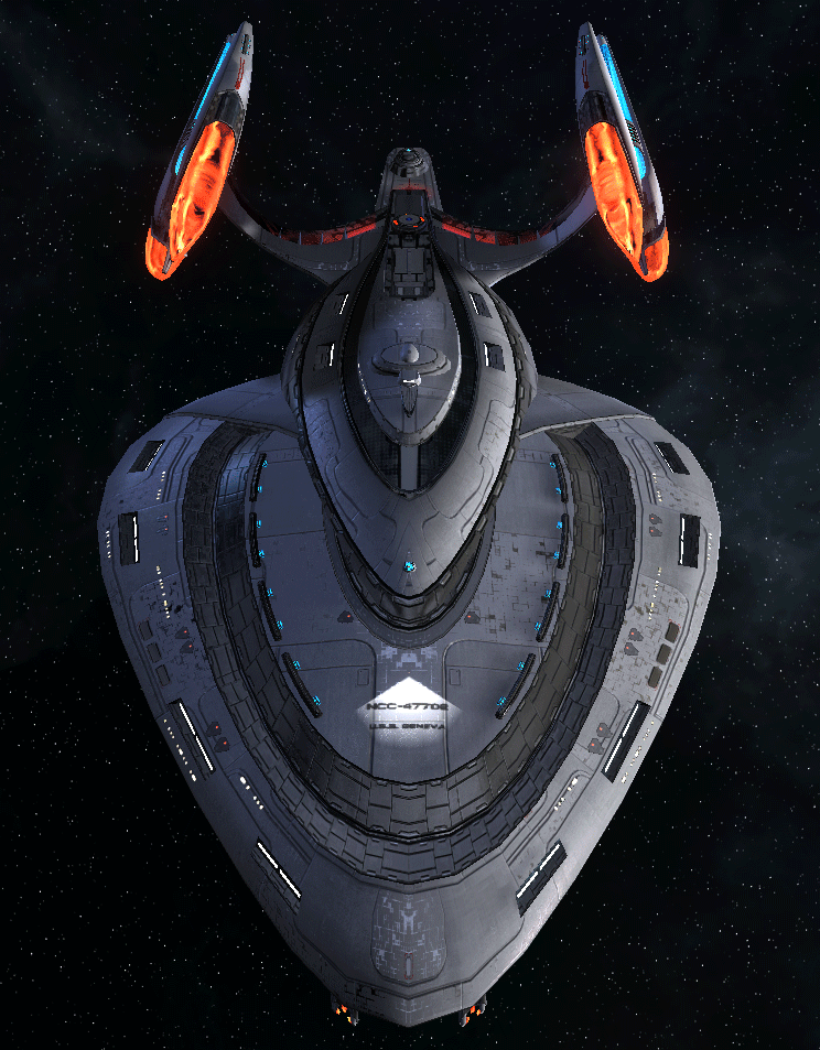 Starfleet Federation Command Ship 12