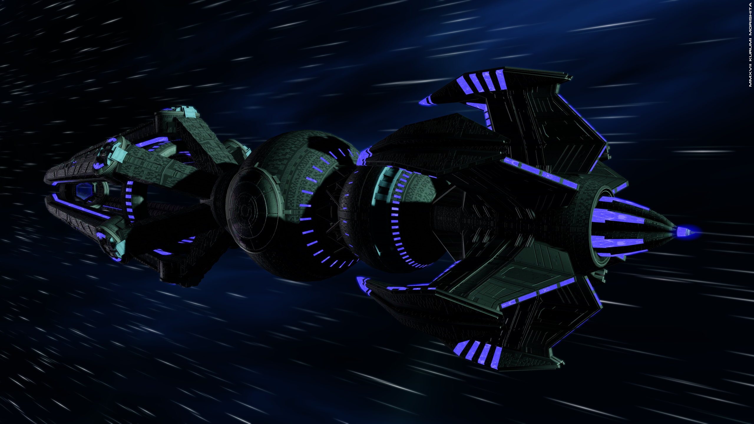 Krenim Annorax Science Dreadnought #002
