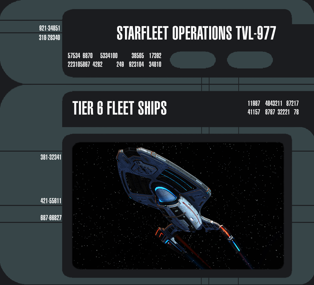 Fleet Tier 6 ships