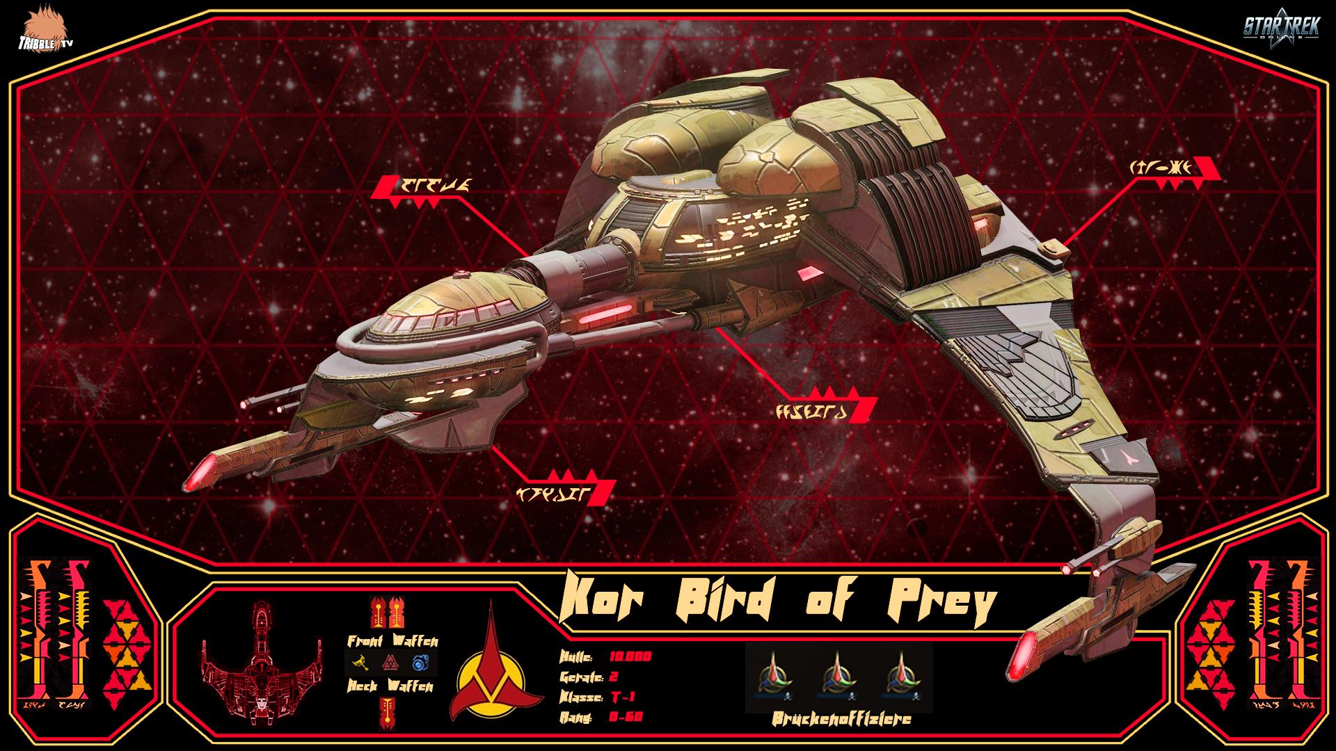 Kor Bird of Prey T-1