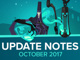 Update Notes: Season of Souls - October 2017