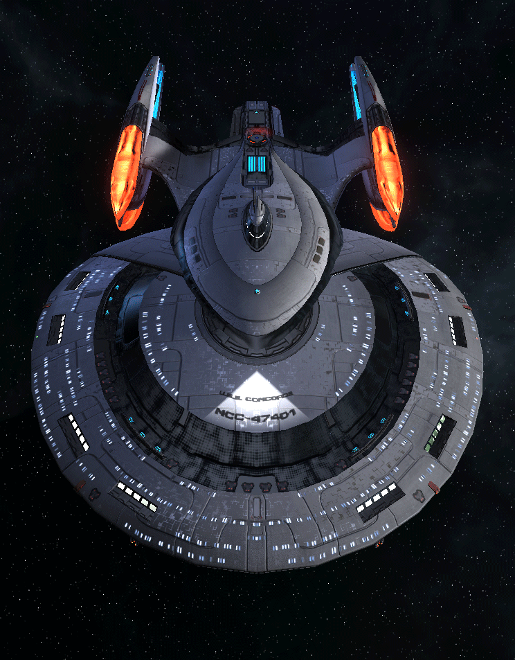 Starfleet Federation Command Ship 1