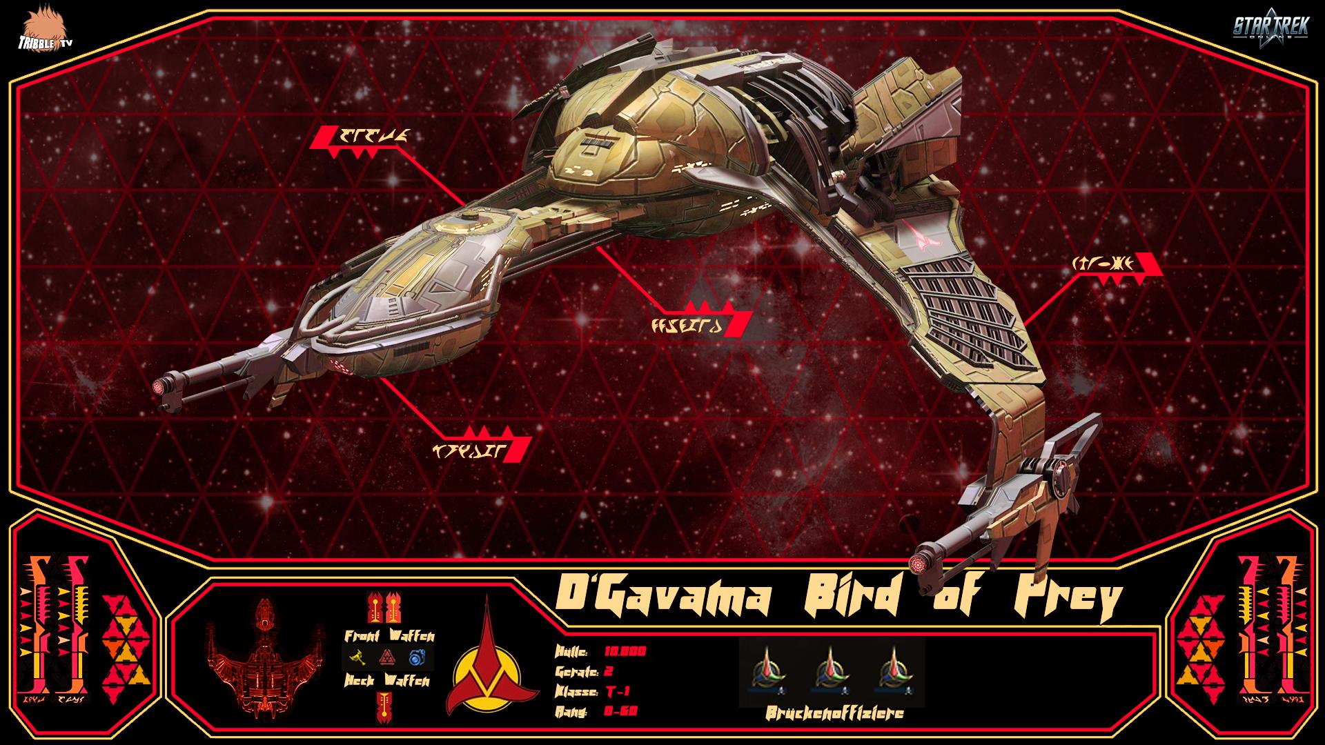 D'Gavama Bird of Prey T-1