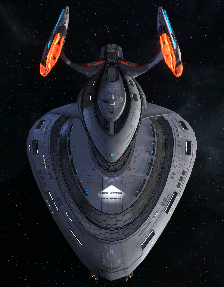 Starfleet Federation Command Ship 11