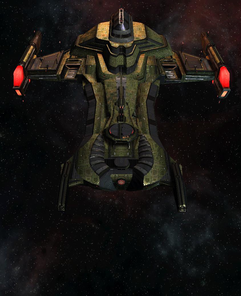 Klingon Command Ship 15