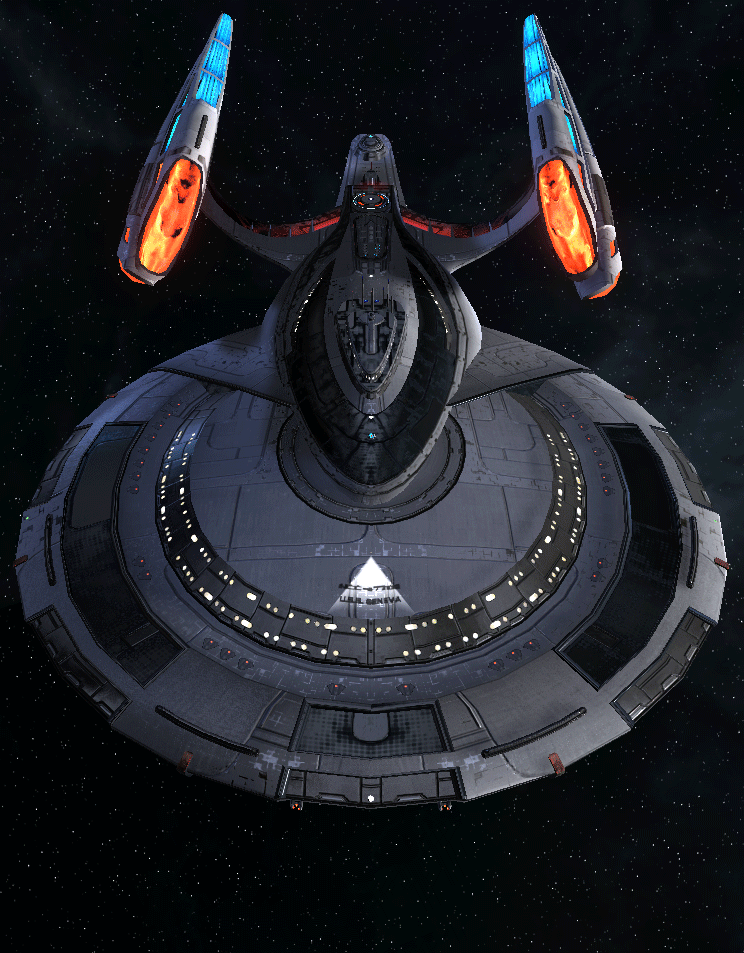 Starfleet Federation Command Ship 18