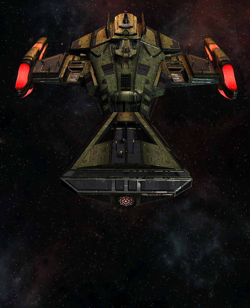 Klingon Command Ship 9