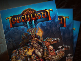 Poster de Torchlight II, maintenant disponible !