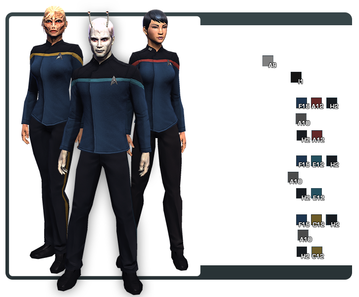 Starfleet Uniform Code Page 12 | Star Trek Online