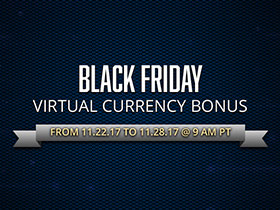 Black Friday Virtual Currency Bonus
