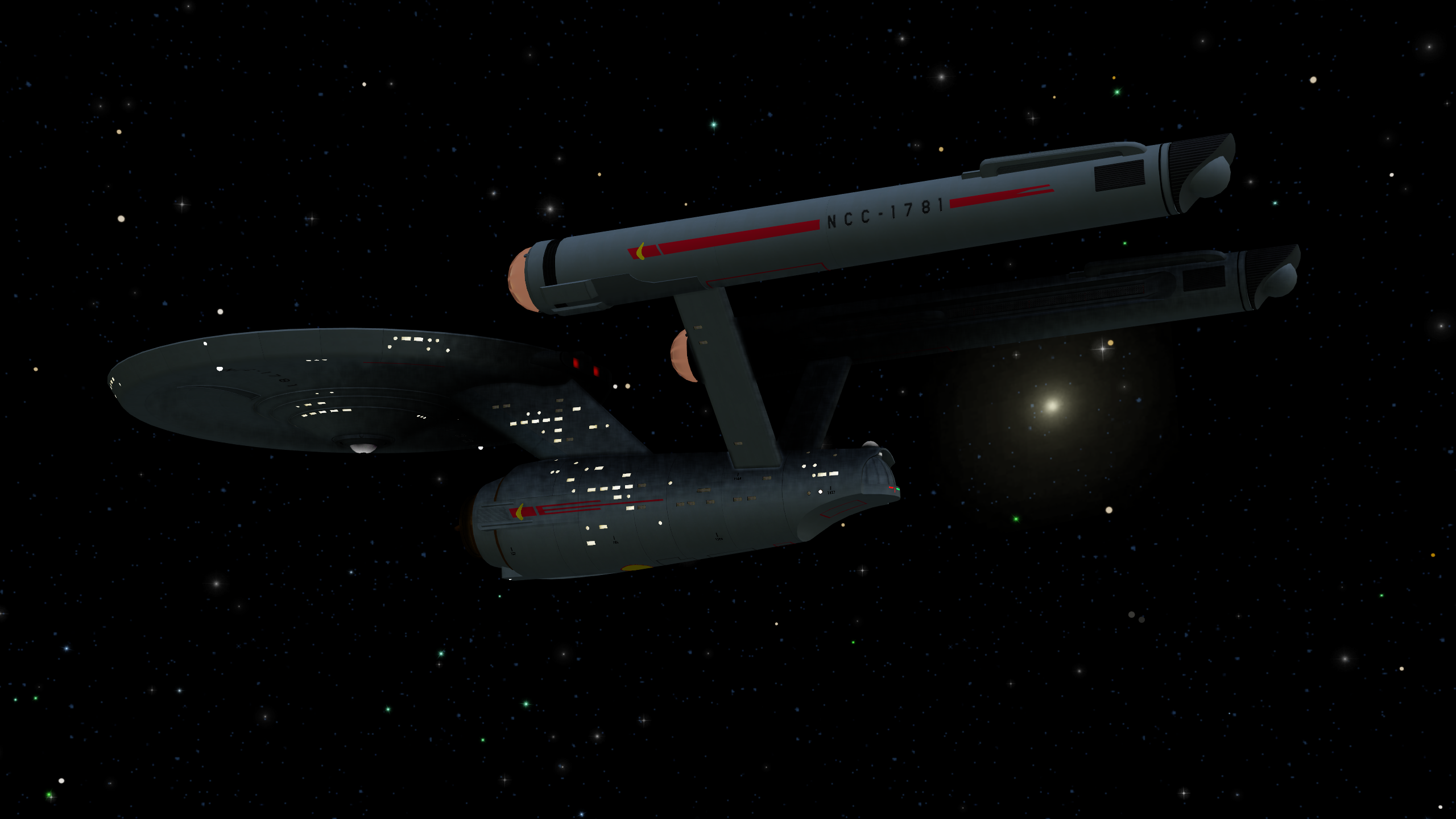 U.S.S. Dunsel (NCC-1781), adrift in Space