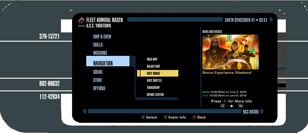 Star Trek Online: Navigating Console UI Xbox y PS4 76be3625503ddbf49c80975c2152d9421466444127