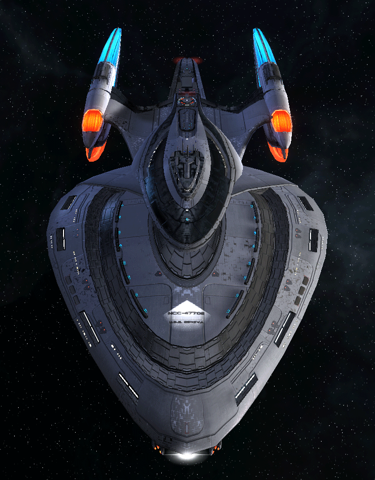 Starfleet Federation Command Ship 8