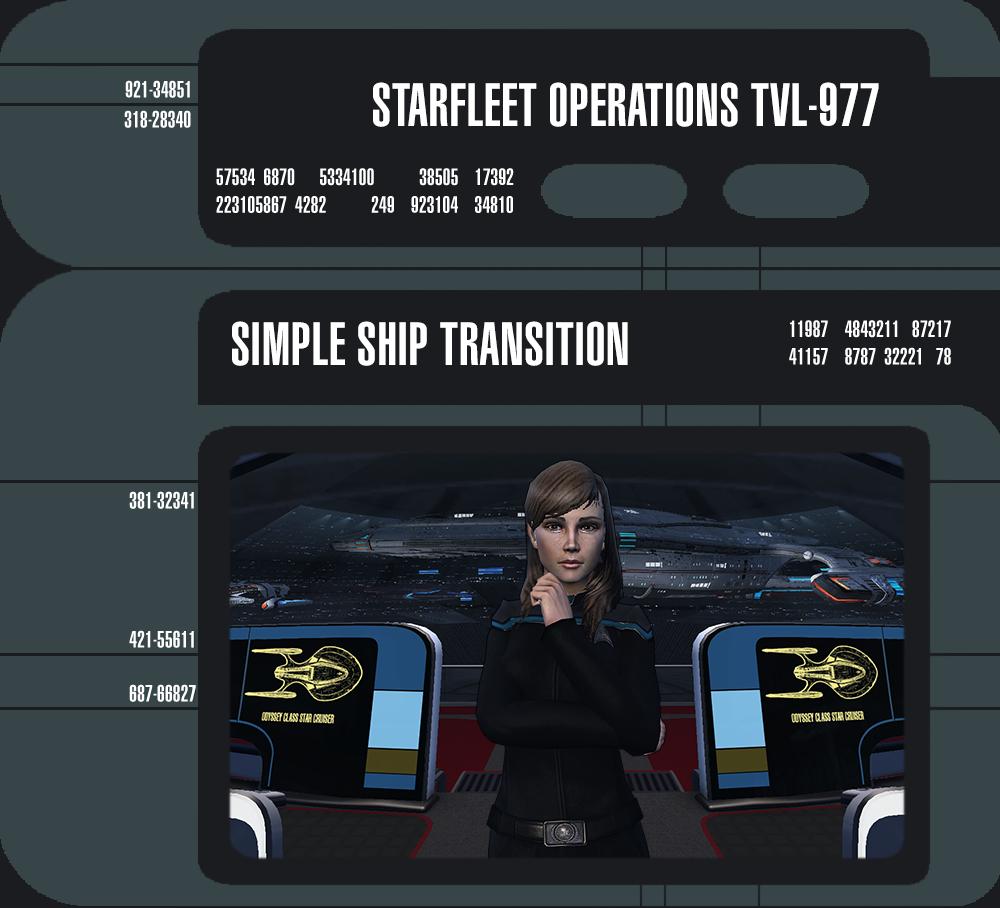 Single Ship Transition