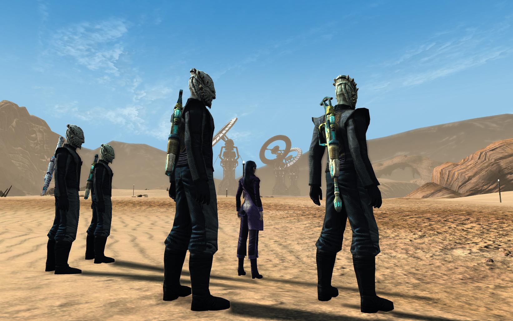 The Dominion in nimbus III