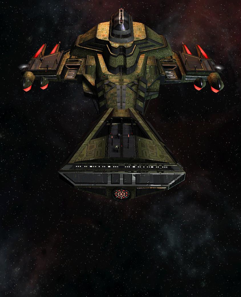Klingon Command Ship 18