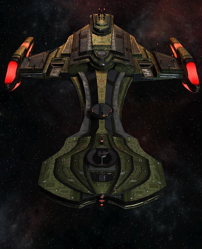 Klingon Command Ship 8