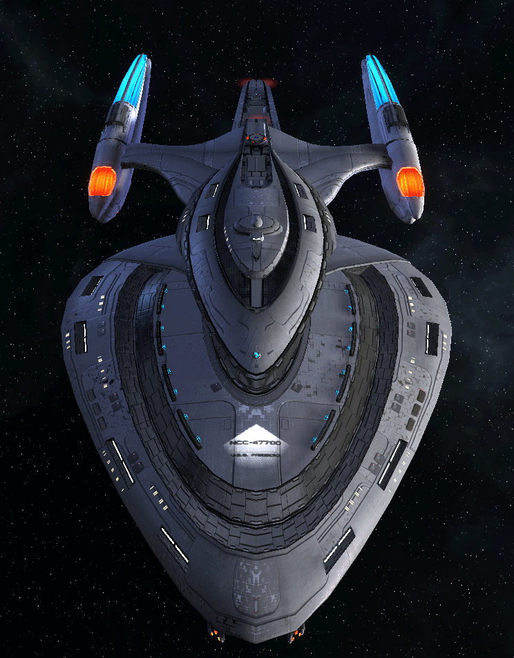 Starfleet Federation Command Ship 2