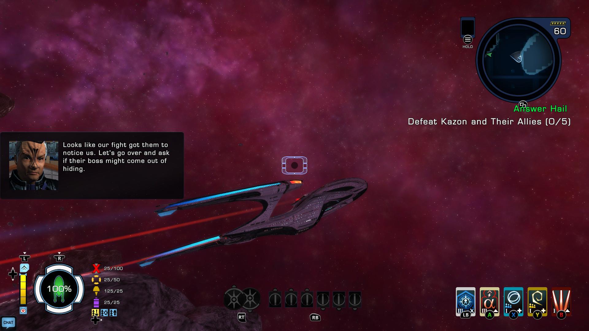 Star Trek line UI Update