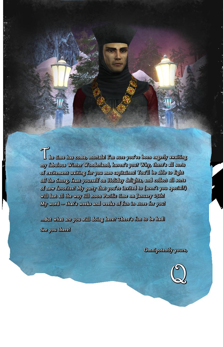 Q's Winter wonderland