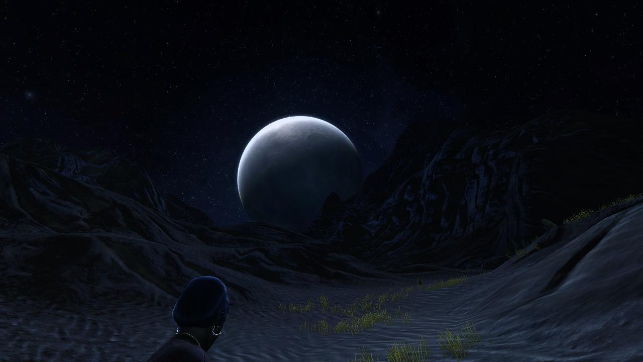 Walking in the Nepada desert