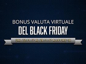 Bonus valuta virtuale del Black Friday