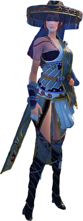 Swordsman's Female Nomad Fashion