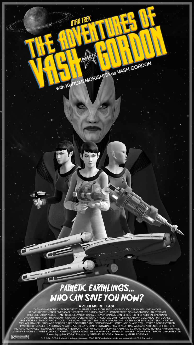 A Fictional STO Movie Poster