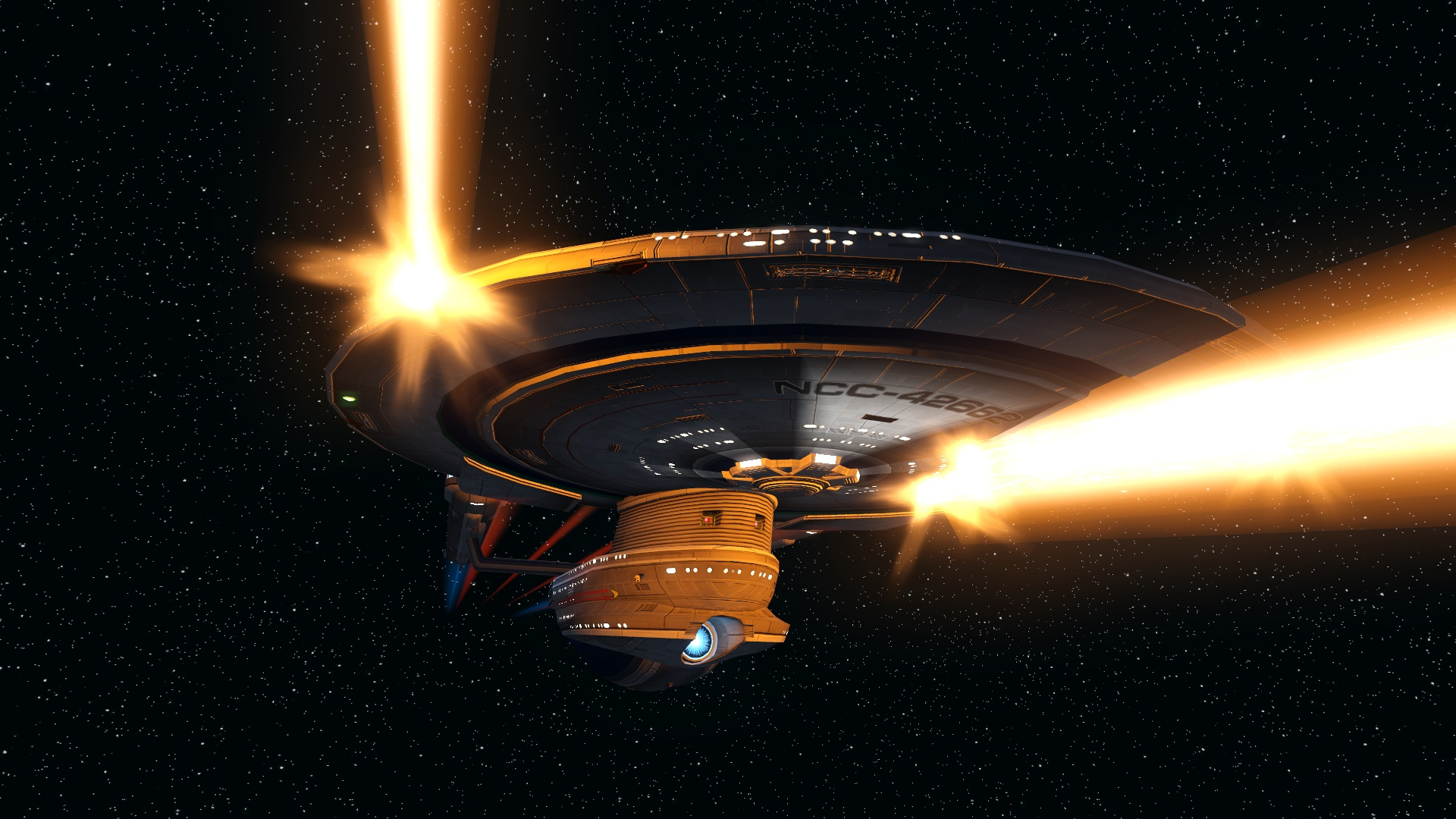 "U.S.S. Pendragon - ""FIRE ALL PHASERS!!"""