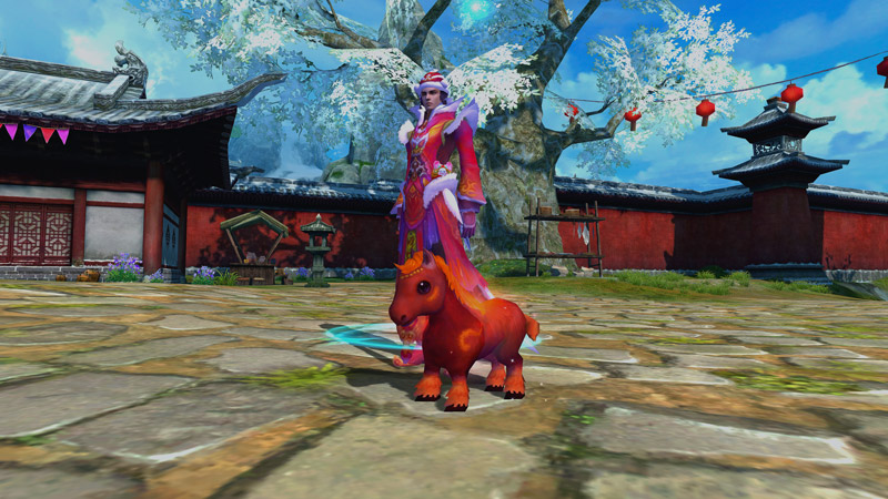 New miniature horse that looks similar to a Pony known as the Cloud Galloper in Jade Dynasty.