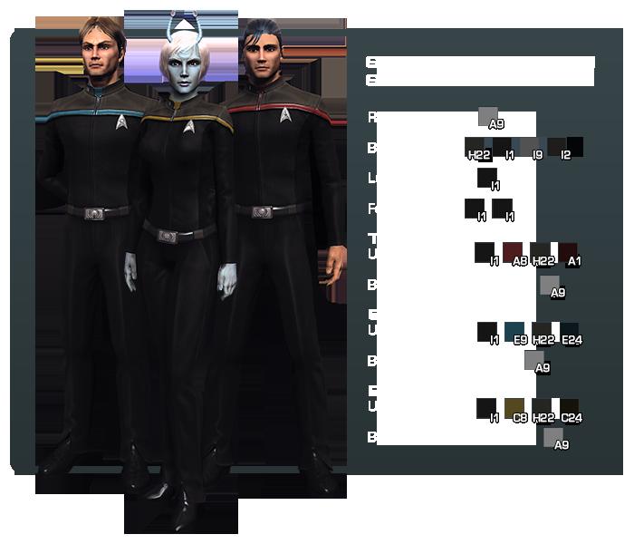 Starfleet Uniform Code Page 3 | Star Trek Online