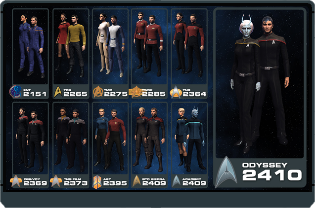 Odyssey and Bortasqu' Uniforms Coming Soon! | Star Trek Online
