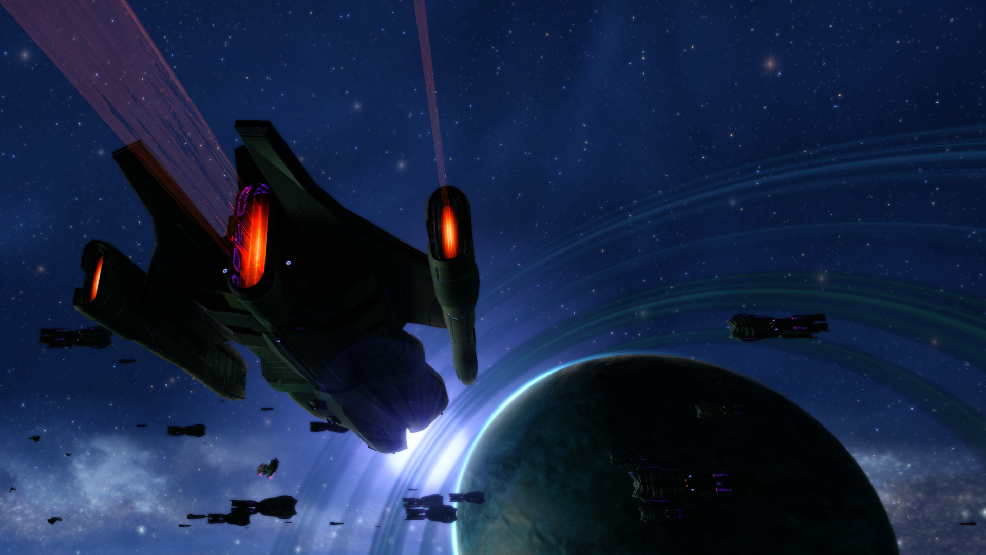 Some Delta Quadrant story arc screenshot